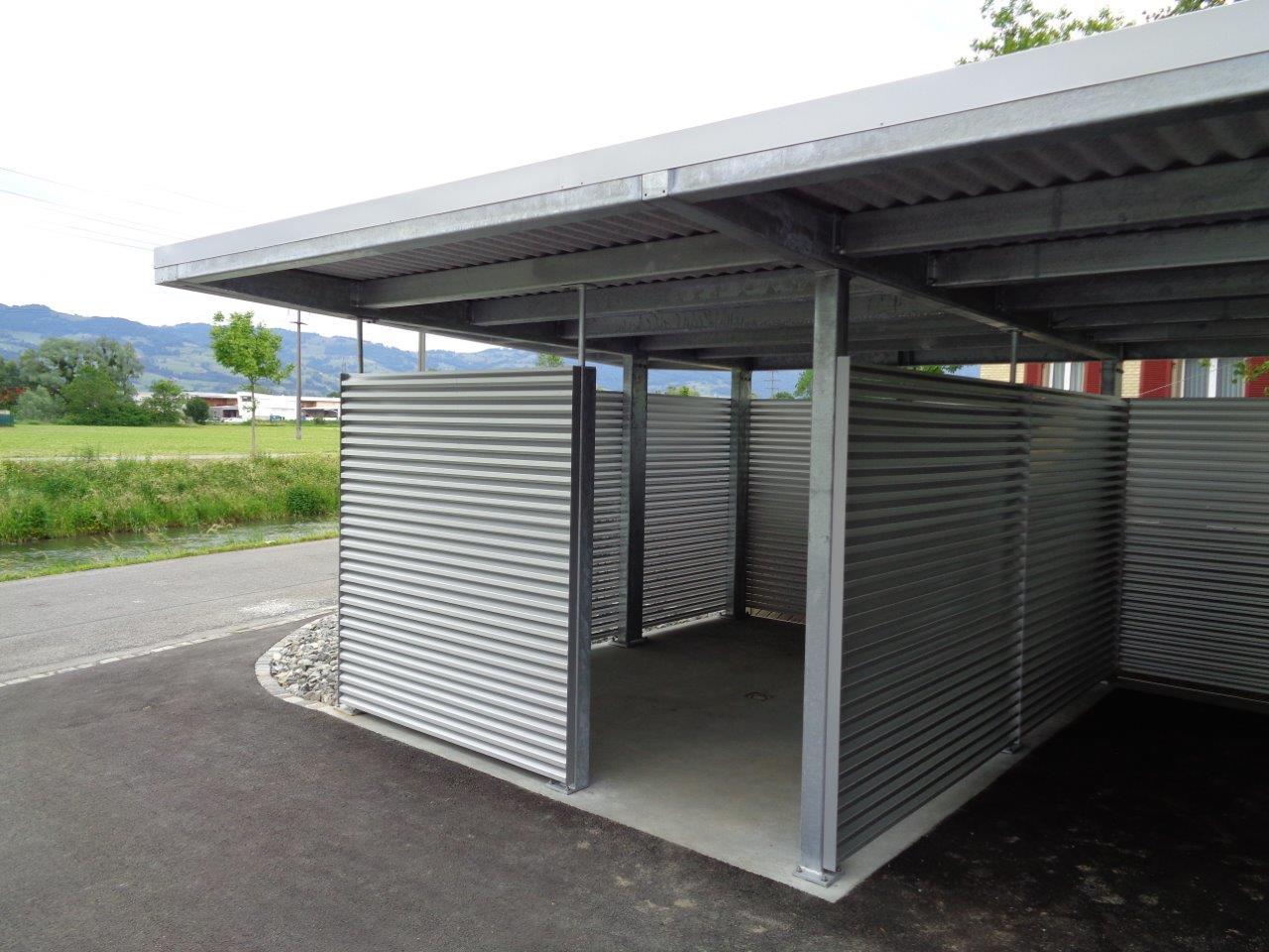 Carport - Spirig Metalltechnik